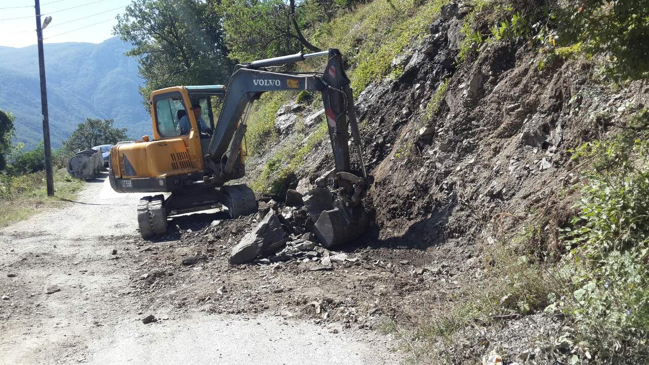 "USAID -Rehabilitation of landslide in village ""Prisojnica"""