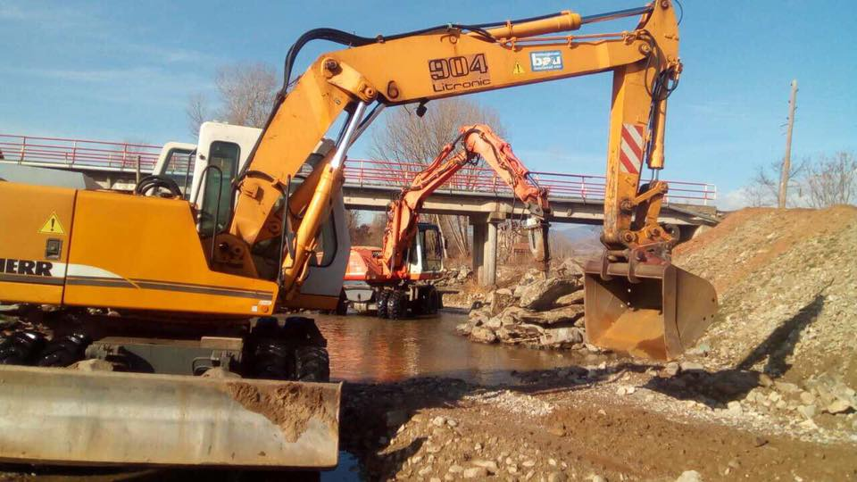 "USAID -Reconstruction of the river-bed and damaged cascade of the river ""Osojnica"""